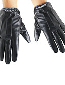 cheap Men's Gloves-Men's Cashmere Fur Wrist Length Fingertips Gloves - Solid Colored
