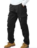 tanie Męskie swetry i swetry rozpinane-Męskie Rozmiar plus Spodnie dresowe Spodnie Jendolity kolor kamuflaż