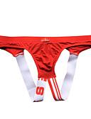 halpa Miesten alusvaatteet ja sukat-Miesten G-stringin alusvaatteet - Yhtenäinen, Reikä Matala vyötärö
