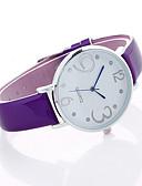 baratos Quartz-Mulheres Relógio Esportivo / Relógio de Pulso Criativo / Legal Lega Banda Amuleto / Luxo / Casual Preta / Cinza / Roxa / Um ano / SSUO LR626