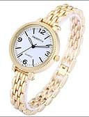 ieftine Quartz-REBIRTH Pentru femei Ceas Casual Ceas La Modă Ceas de Mână Quartz 30 m Ceas Casual Aliaj Bandă Analog Casual Elegant Argint / Auriu - Alb Negru Argintiu / Oțel inoxidabil