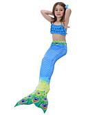cheap Girls' Dresses-Toddler Girls' Print / Cartoon Swimwear