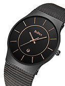 cheap Dress Watches-BIDEN Men's Wrist Watch Japanese Calendar / date / day / Water Resistant / Water Proof Stainless Steel Band Luxury / Vintage / Casual Black / Gold