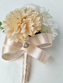 رخيصةأون طرحات الزفاف-زهور الزفاف ورود العروة زفاف / حفلة / سهرة البوليستر 3.94 بوصة