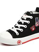 זול 2017ביקיני ובגדי ים-בנים נעליים קנבס אביב / סתיו נוחות נעלי ספורט הליכה שרוכים ל שחור / אדום / כחול