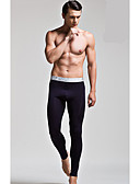 cheap Men's Underwear & Socks-Men's Polyester Long Johns Solid Colored Modern Style Low Waist