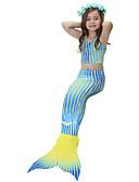 זול טישרטים לגופיות לגברים-בנות חמוד פעיל דפוס בגדי ים, כותנה פוליאסטר ללא שרוולים פול
