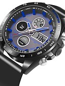 preiswerte Quartz-Herrn / Damen Armbanduhr Japanisch Armbanduhren für den Alltag PU Band Freizeit Schwarz