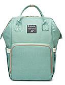 preiswerte Kleider-Oxford Tuch Geometrisch Windel-Tasche Reißverschluss Geometrisch Grau / Himmelblau / Dunkelrot