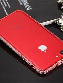 baratos Vestidos Femininos-Capinha Para iPhone 7 Apple iPhone 7 Antichoque Moldura Anti-Choque Côr Sólida Rígida Metal para iPhone 8 iPhone 7