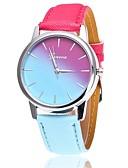 זול קווארץ-בגדי ריקוד נשים שעון יד קווארץ שעונים יום יומיים PU להקה אנלוגי יום יומי אופנתי שעוני שמלה כחול / אדום / ורוד - אדום ורוד כחול בהיר שנה אחת חיי סוללה
