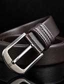baratos Cintos de Moda-Homens Pele, Cinto para a Cintura - Fivela