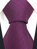 cheap Men's Ties & Bow Ties-Men's Party / Work Necktie - Solid Colored / Jacquard
