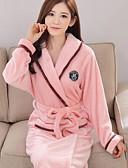 olcso Köntösök és pizsamák-V-alakú Ruhák Pizsamák Női - Egyszínű