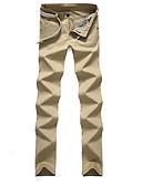 ieftine Pantaloni Bărbați si Pantaloni Scurți-Bărbați Bumbac Pantaloni Chinos Pantaloni Peteci