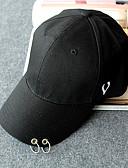 זול כובעים אופנתיים-כובע שמש כובע בייסבול - אחיד כותנה מסוגנן עבודה יוניסקס