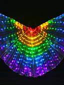 cheap Prom Dresses-Belly Dance Isis Wings Women's Performance Polyester Bulb Included Tube Wings