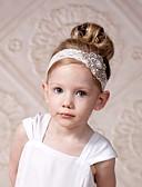Χαμηλού Κόστους Παιδικά Αξεσουάρ Κεφαλής-Παιδιά Κοριτσίστικα Βαμβάκι Αξεσουάρ Μαλλιών Λευκό Ένα Μέγεθος / Κεφαλόδεσμοι