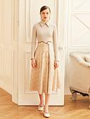 tanie Spodnie-Damskie Zabytkowe Bawełna Linia A Spódnice - Praca Nadruk