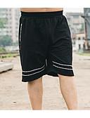 baratos Calças e Shorts Masculinos-Homens Algodão Calças Esportivas Calças - Sólido / Esportes