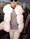 preiswerte Damen Westen-Damen - Solide Weste Baumwolle überdimensional