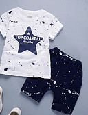 cheap Women's Nightwear-Boys' Daily Solid Polka Dot Clothing Set, Cotton Bamboo Fiber Winter Long Sleeves Casual Navy Blue Gray Wine