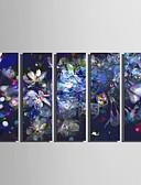 abordables Robe de Patinage-Imprimé Impressions sur toile roulées Moderne Cinq Panneaux