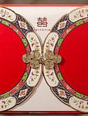 ieftine Cămașă-Șal & Buzunar Invitatii de nunta 20 - Invitații Stil Clasic Hârtie Reliefată Embosat
