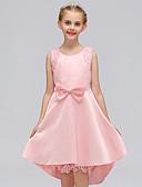 tanie Sukienki dla dziewczynek-Dzieci Dla dziewczynek Casual Solidne kolory Bez rękawów Bawełna Sukienka Niebieski 110 / Śłodkie