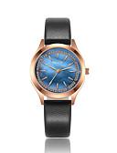 זול קווארץ-KEZZI בגדי ריקוד נשים שעוני אופנה / שעון יד Japanese שעונים יום יומיים / מגניב PU להקה יום יומי שחור / לבן / כחול