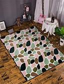 זול טרנינגים וקפוצ'ונים לגברים-שטח שטיחים מודרני קשור / פלנלית, מָטוֹס / מלבני איכות מעולה שָׁטִיחַ / החלקה ללא לטקס