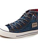 cheap Men's Underwear & Socks-Men's Canvas Spring / Fall Comfort Sneakers Black / Blue
