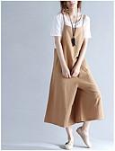 tanie Damskie spodnie-Damskie Bawełna Typu Chino Spodnie Solidne kolory