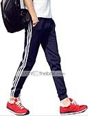 voordelige Herenhoodies & Sweatshirts-Heren Actief Katoen Slank Actief / Ruim / Joggingbroeken Broek Gestreept / Gestreept  / Sport / Weekend