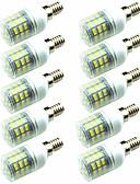 cheap Men's Blazers & Suits-10pcs 3W 200lm E14 G9 GU10 E26 / E27 E12 LED Corn Lights T 60 LED Beads SMD 2835 Decorative Warm White Cold White 220-240V