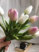 זול תחתוני נשים-פרחים מלאכותיים 10 ענף סגנון מינימליסטי / פרחי חתונה צבעונים פרחים לשולחן