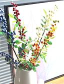 זול חולצות לגברים-פרחים מלאכותיים 1 ענף כפרי / סגנון מינימליסטי צמחים פרחים לשולחן
