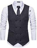 זול חולצות לגברים-אחיד רזה וסט-בגדי ריקוד גברים,בסיסי