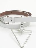 abordables Cinturones a la Moda-Mujer Piel / Legierung Cinturón de Cintura - Activo / Básico Un Color