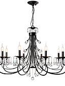 abordables Relojes de Vestir-LightMyself™ 8-luz Lámparas Araña Luz Ambiente Acabados Pintados Metal Cristal 110-120V / 220-240V Bombilla no incluida / E12 / E14