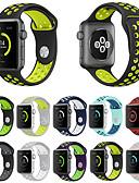 baratos Camisetas & Regatas Masculinas-Pulseiras de Relógio para Apple Watch Series 3 / 2 / 1 Apple Pulseira Esportiva Silicone Tira de Pulso