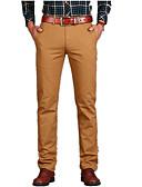 cheap Men's Pants & Shorts-Men's Cotton Chinos Pants - Solid Colored Rivet