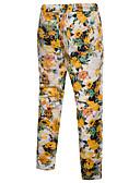 זול מכנסיים ושורטים לגברים-בגדי ריקוד גברים משוחרר צ'ינו מכנסיים דפוס, גיאומטרי