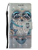 זול חולצות פולו לגברים-מגן עבור Sony Xperia XZ1 / Xperia XA1 ארנק / מחזיק כרטיסים / עם מעמד כיסוי מלא ינשוף קשיח עור PU ל Sony Xperia XZ1 / Sony Xperia XZ Premium / Sony Xperia XA1