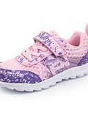 זול סטים של ביגוד לבנות-בנות נוחות רשת / PU נעלי ספורט ילדים גדולים (7 שנים +) הליכה נצנצים / מפרק מפוצל סגול / ורוד סתיו / חורף