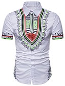 povoljno Muške košulje-Majica Muškarci - Osnovni Dnevno Praznik Geometrijski oblici