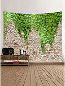 cheap Plus Size Dresses-Garden Theme Landscape Wall Decor 100% Polyester Contemporary Modern Wall Art, Wall Tapestries Decoration