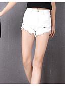 povoljno Ženske hlače i suknje-Žene Osnovni Veći konfekcijski brojevi Kratke hlače Hlače - Čipka, Jednobojni