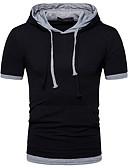 abordables Relojes de Moda-Hombre Activo Básico Camiseta Un Color