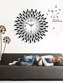 رخيصةأون زينة الكيك-الحديثة / المعاصرة زجاج الحديد مستطيل داخلي,AA ساعة الحائط